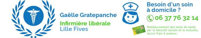Infirmiere à domicile Lille Fives Logo